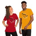 Leap of Faith   Unisex Shirt in Mono