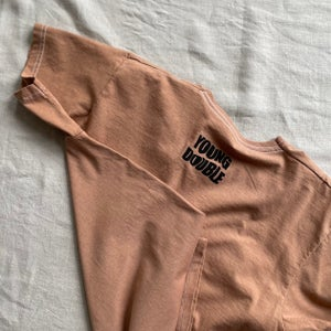 Humanity T-shirt in Rusted
