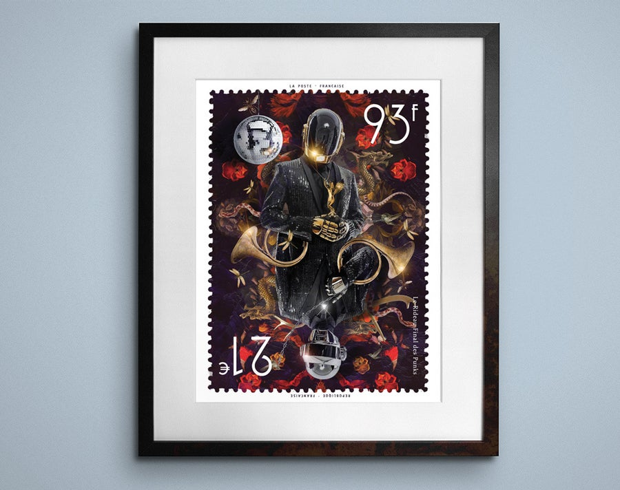 Image of Daft Punk 93-21 Stamp