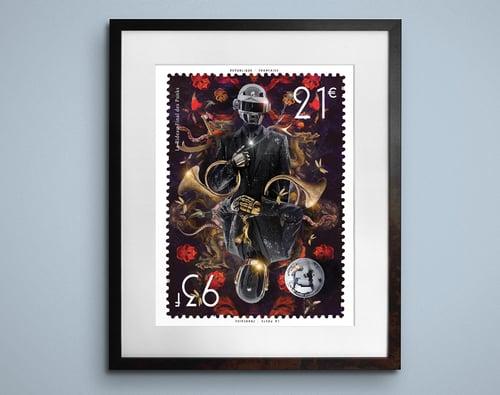 Image of Daft Punk 93-21 Stamp