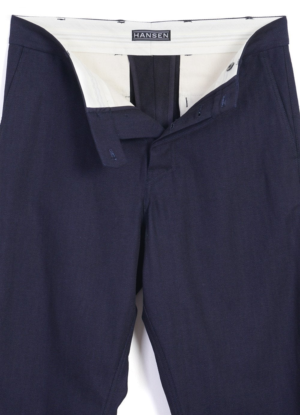 Hansen Garments KIAN | Wide Fit Trousers | Indigo