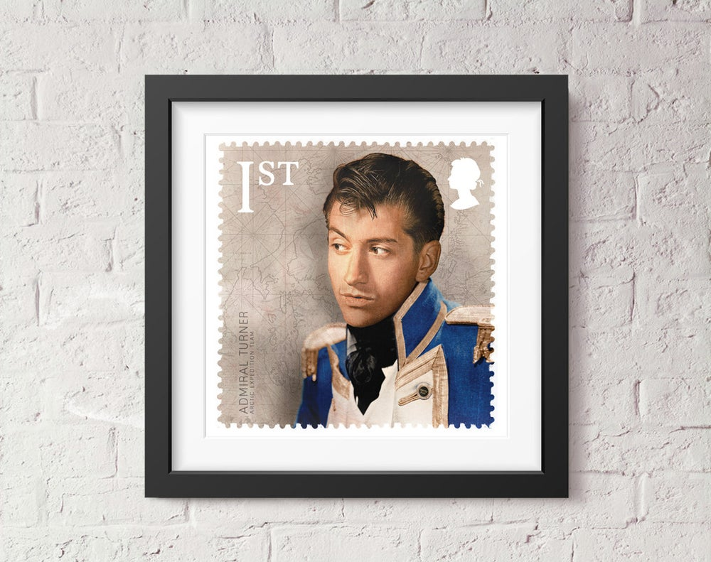 Image of Admiral Turner Stamp