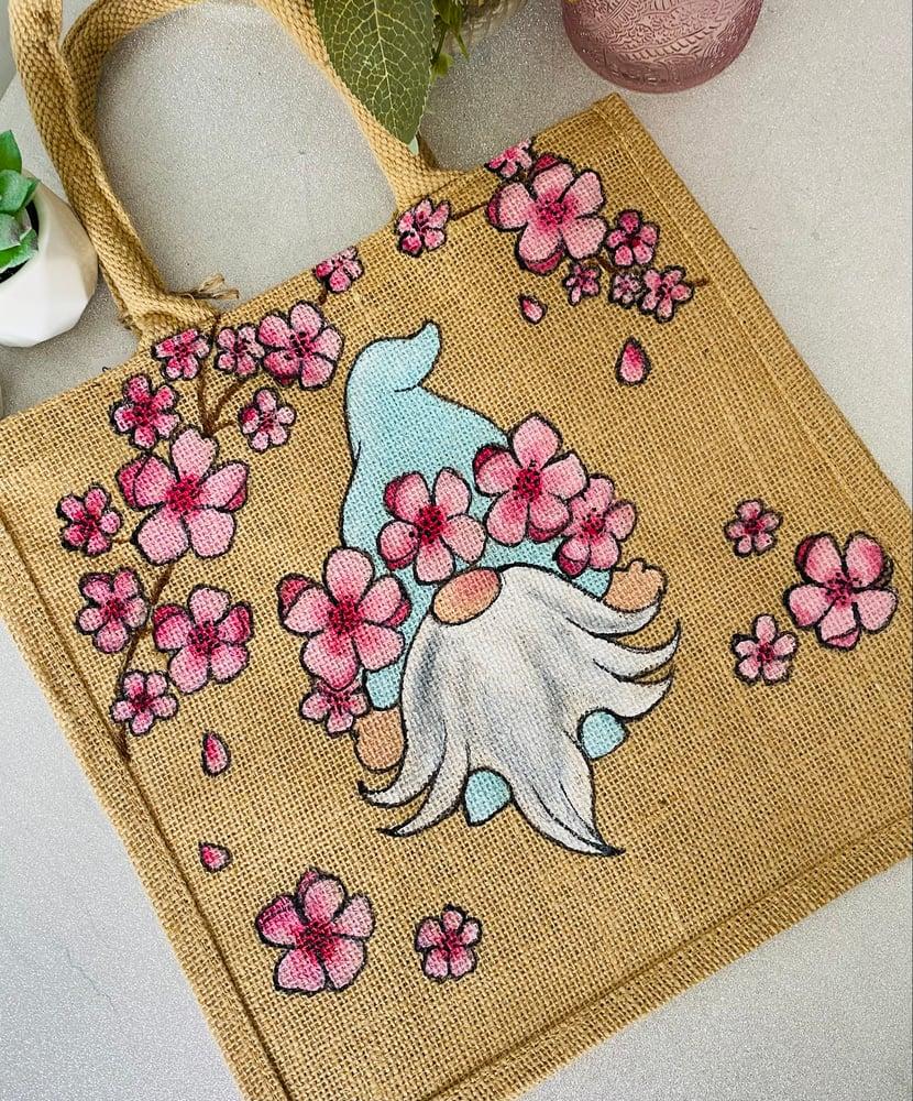 Image of Cherry Blossom Gnome Bag
