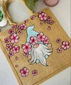 Cherry Blossom Gnome Bag