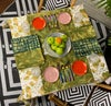 Dinner Napkin - Tamalpais Daisy in Green