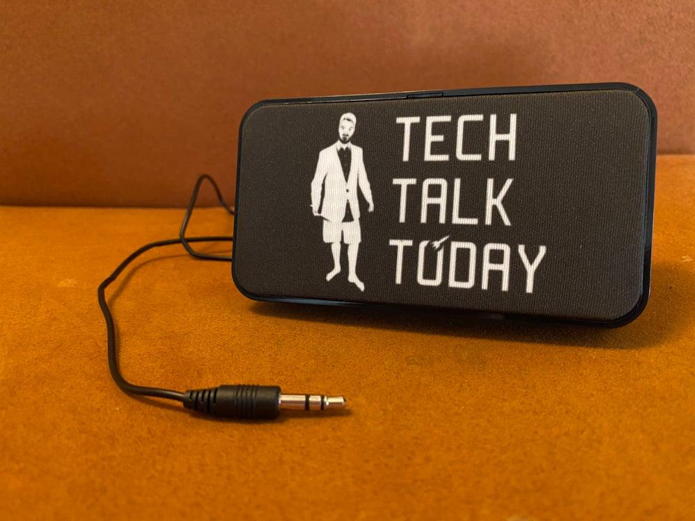 Tech Talk Today Portable Speaker