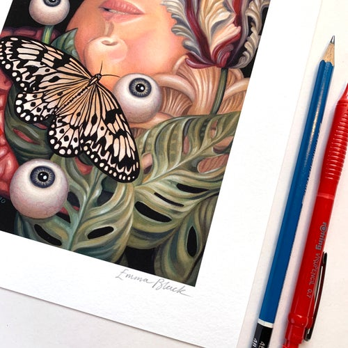 Image of Limited Edition 'Reappearing In Silence' Giclée Print - Standard Edition of 50