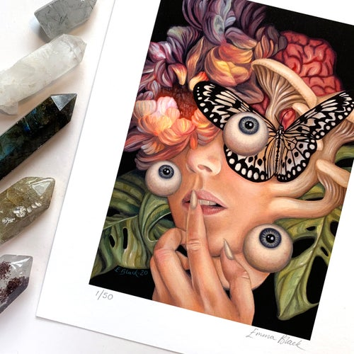 Image of Limited Edition ''Forgotten Is The Blessing' Giclée Print - Standard Edition of 50