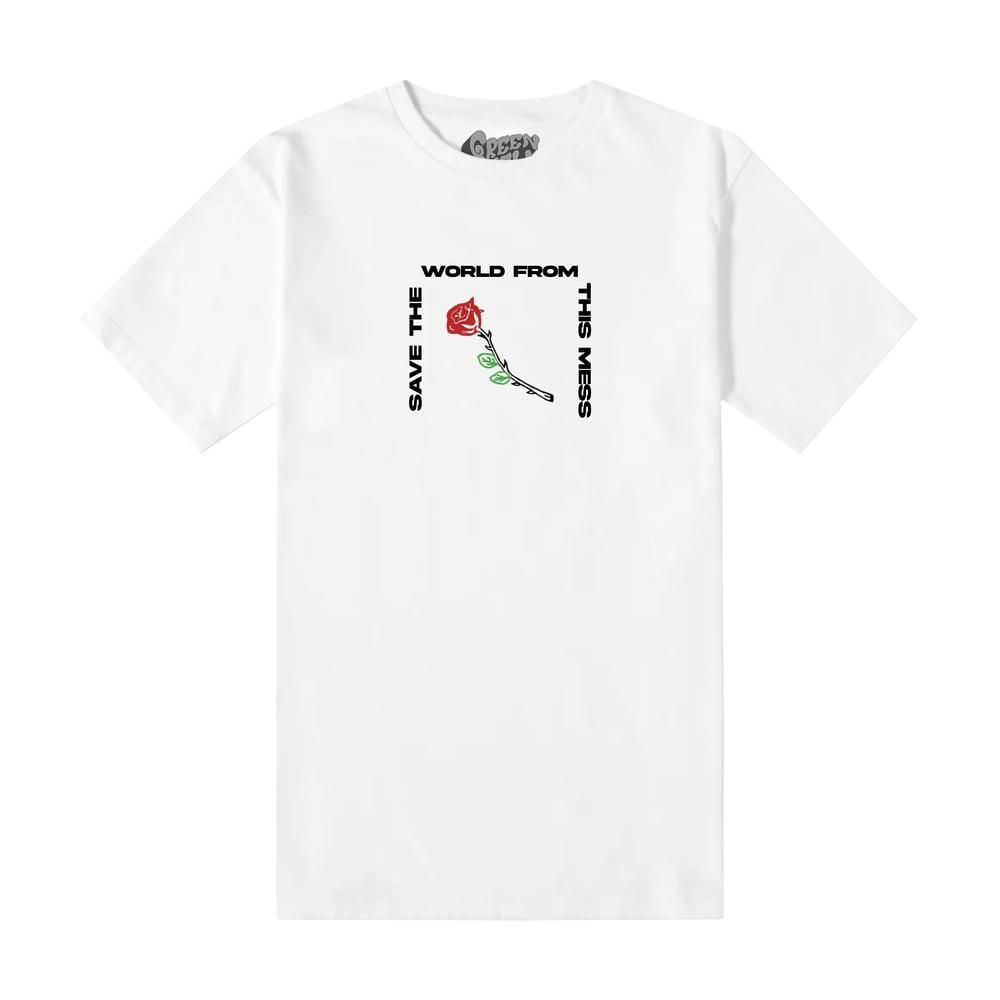 Rose Tee (White)