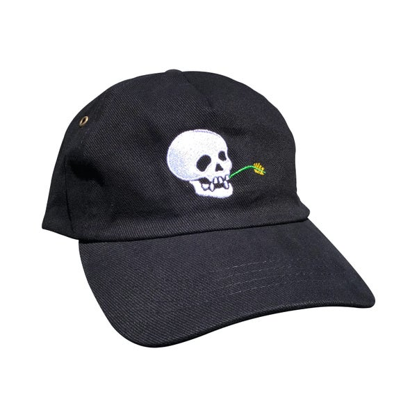 "Image of Black ""Wheat Farmer"" Hat"