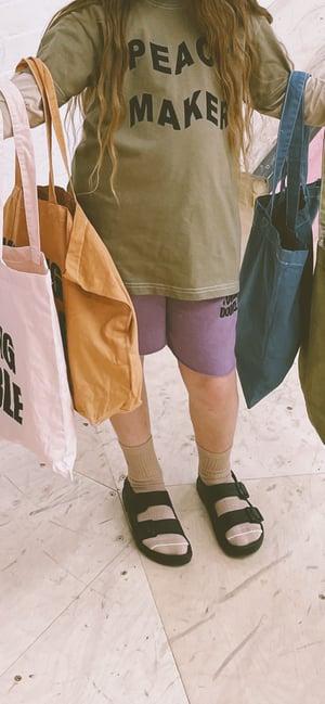 YD Jersey Shorts in Purple Rain