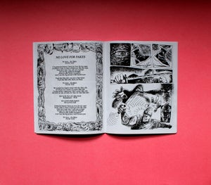 CATEGORY 514 - NO LOVE FOR FAKES LYRIC BOOK
