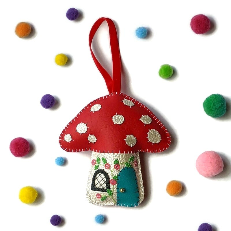 Image of Toadstool Decoration