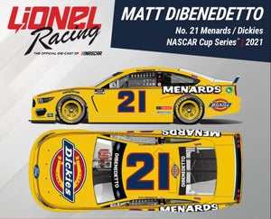 Image of *SIGNED* Dickies/Menards Mustang Diecast