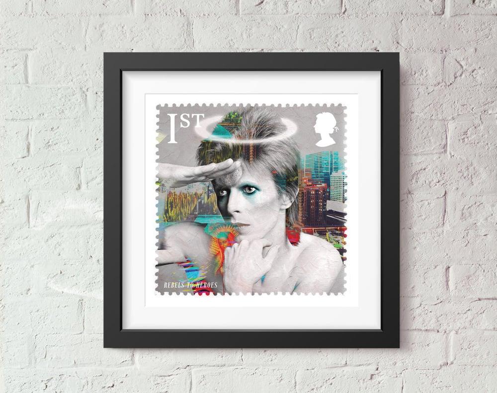 Image of St David Rebel to Heroes Stamp