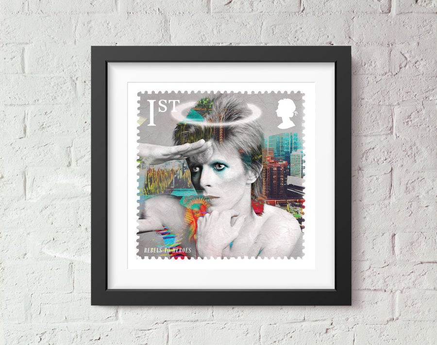Image of St David Rebel to Heroes Stamp