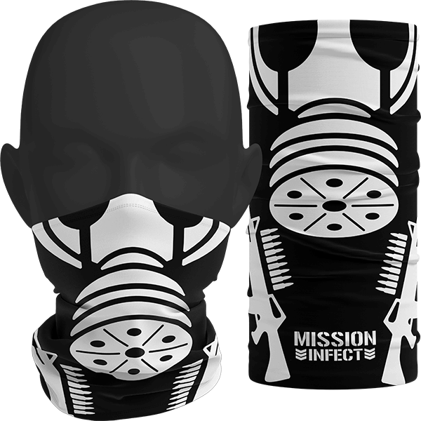 """Image of """"INFECT"""" Facemask (Mask Style)"""