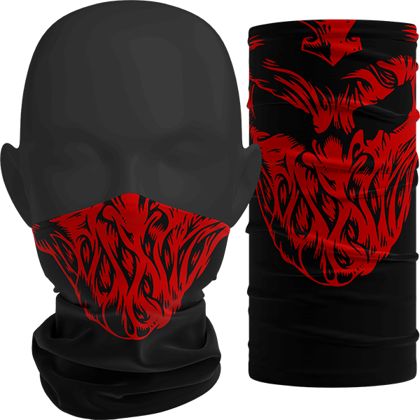 """Image of """"Bleed V2"""" Facemask"""