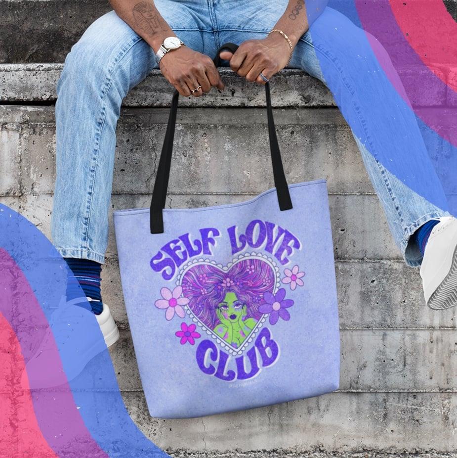 Image of SELF LOVE CLUB TOTE BAG