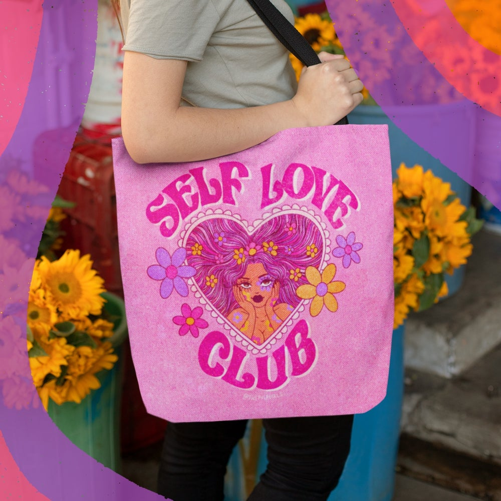Image of SELF LOVE CLUB TOTE BAG