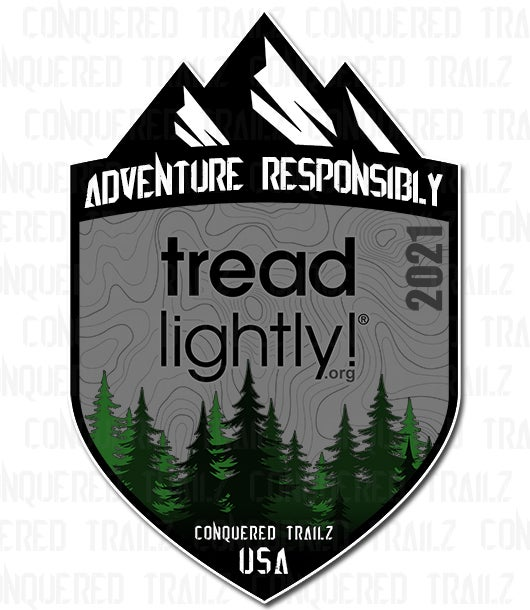 Image of 2021 Tread Lightly! Support Badge