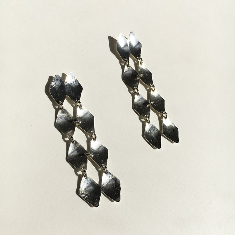 Image of pave earring