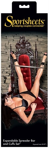 Expandable Spreader Bar and Cuff Set