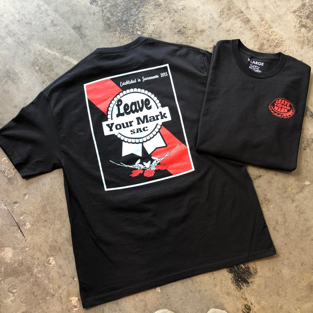 """Leave Your Mark """"Pabst Your Mark"""" Tee Shirt"""