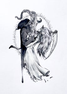 """Image of Limited Edition """"Kiss of Death 2.0"""" Print"""