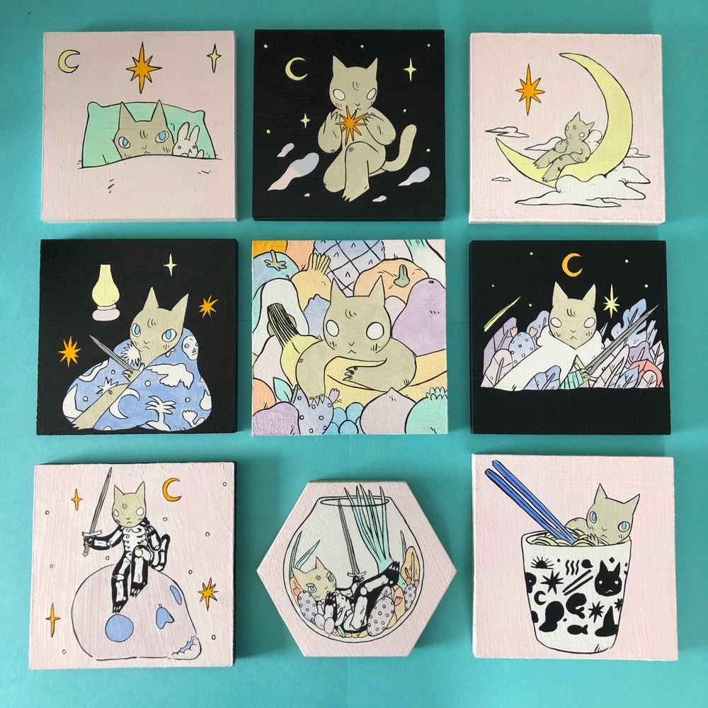 Image of 5x5 Painting Lot (No. 3)