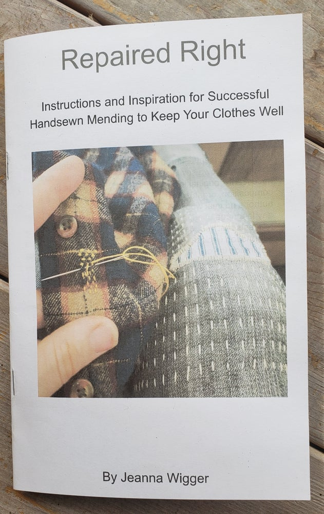 Image of Repaired Right Mending Booklet
