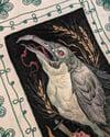 Weizenvogel Painting