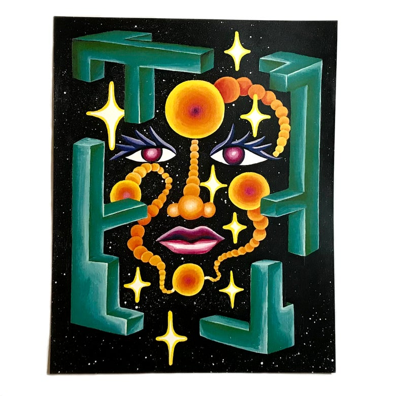 "Image of ""Space Face I"""