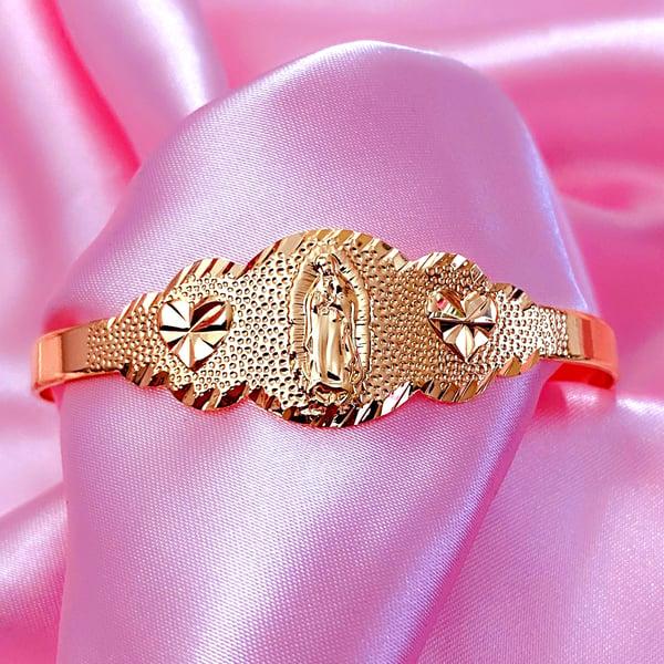 "Image of Virgencita ""Hood Classy"" Bracelet GOLD"