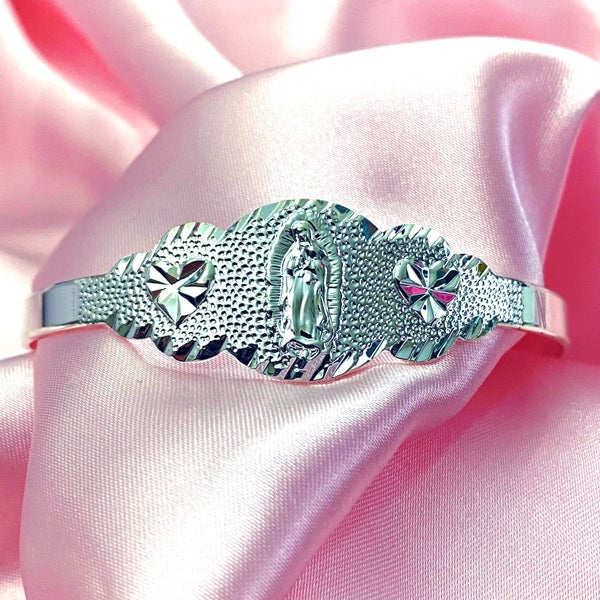 "Image of Virgencita ""Hood Classy"" Bracelet SILVER"