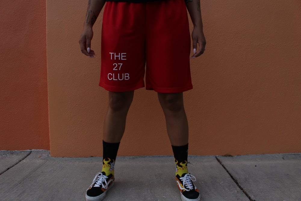 Image of OG Red Shorts