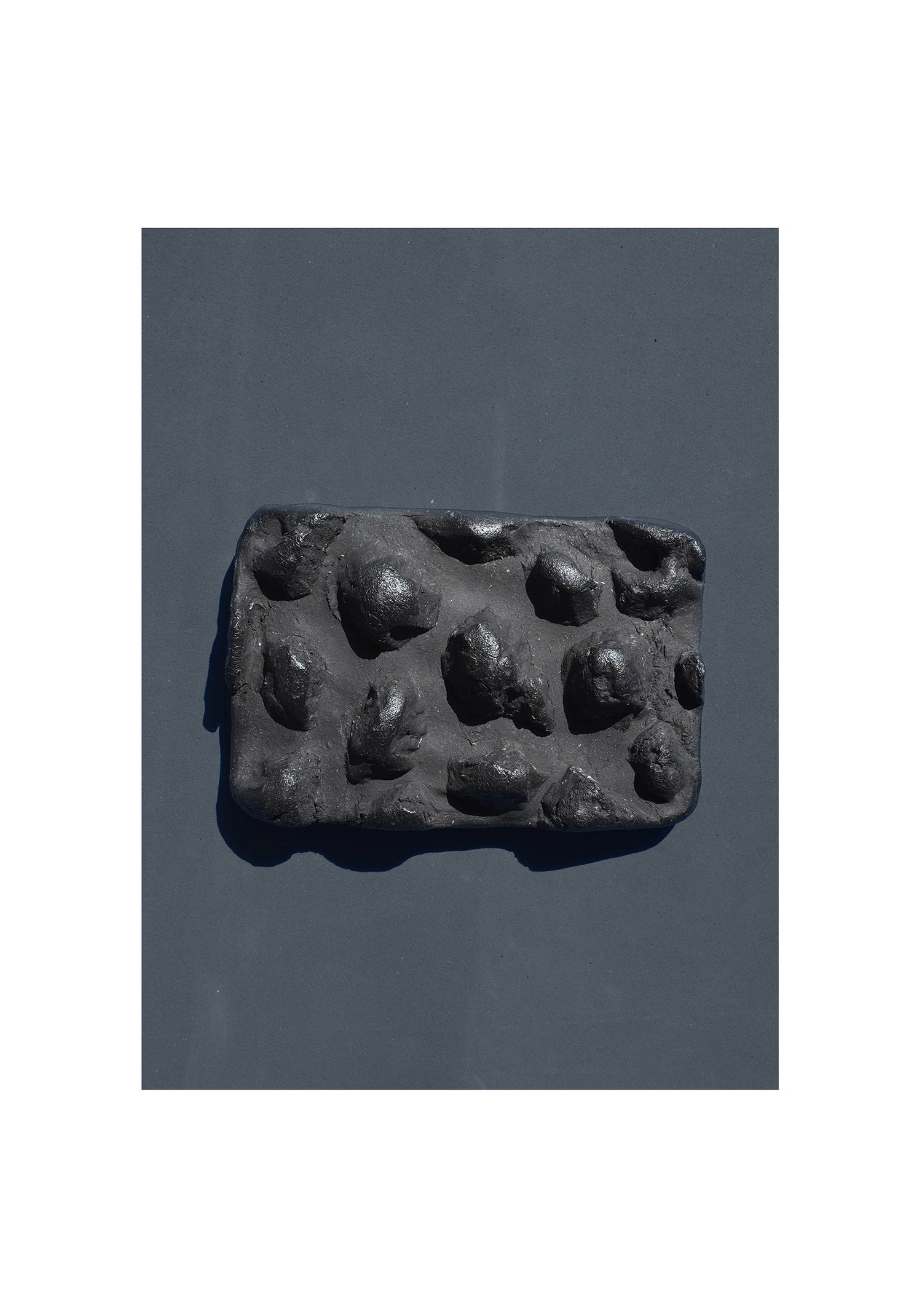 Image of SOAP DISH not on earth // col. black charcoal