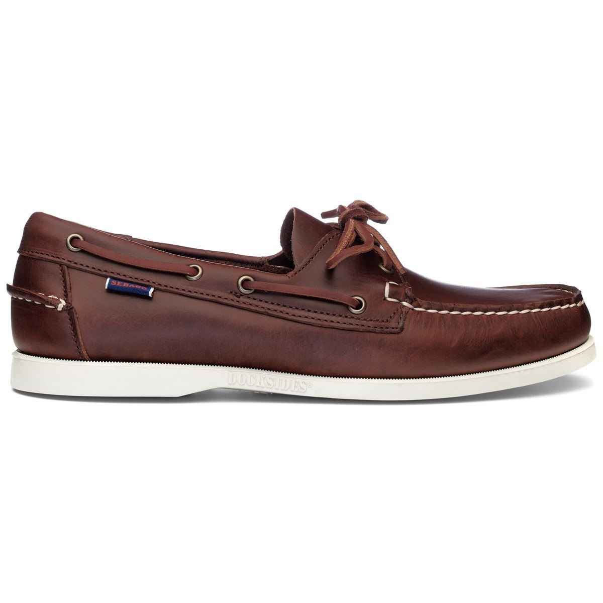 Image of Docksides light brown waxed calf by Sebago