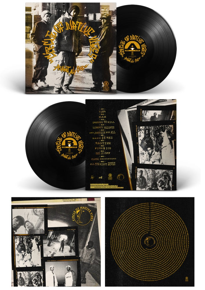 Image of Circle Of Native Vibes - Against All Odds (Album LP + Insert) SOLD OUT