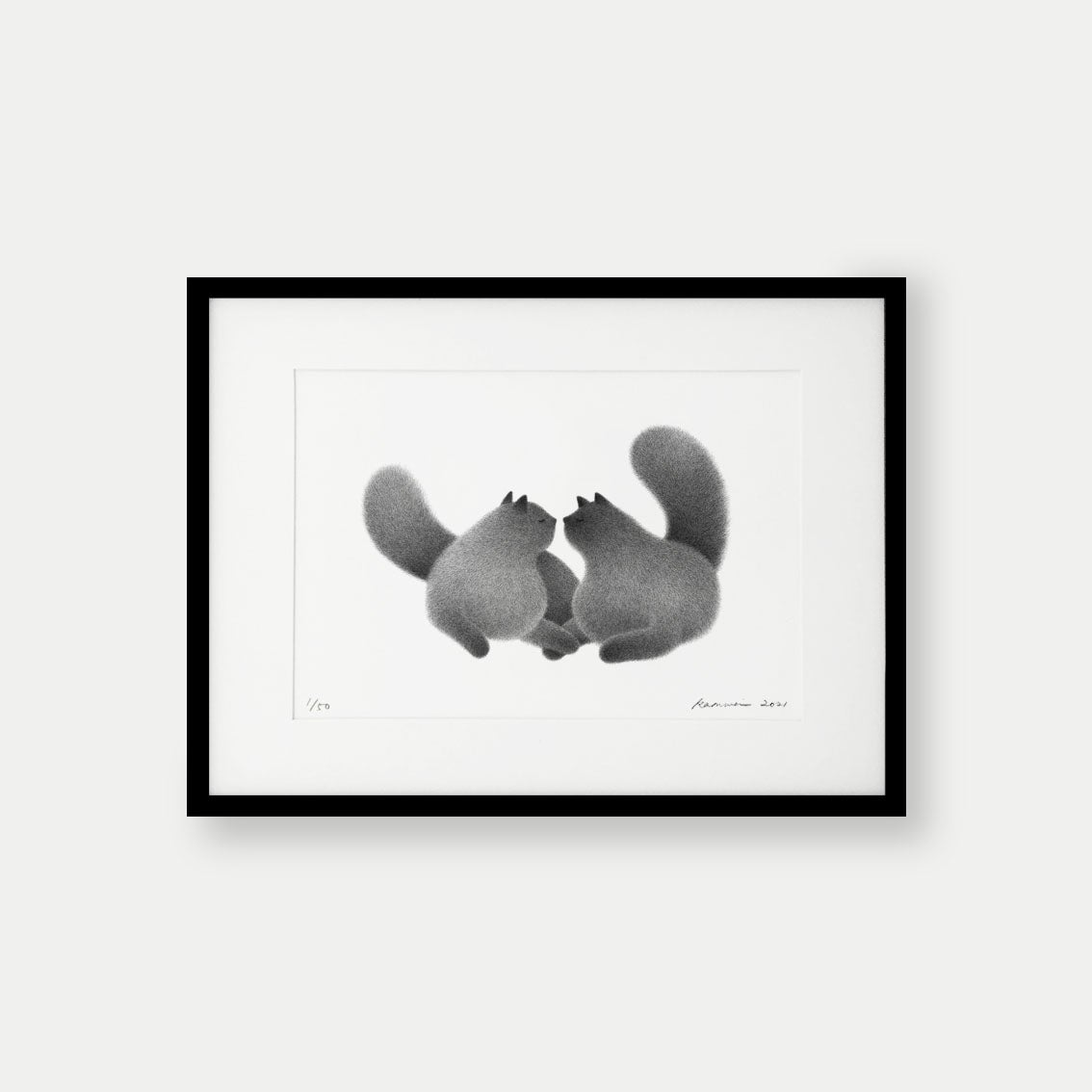 Image of I Love You – A3 Limited Edition Print