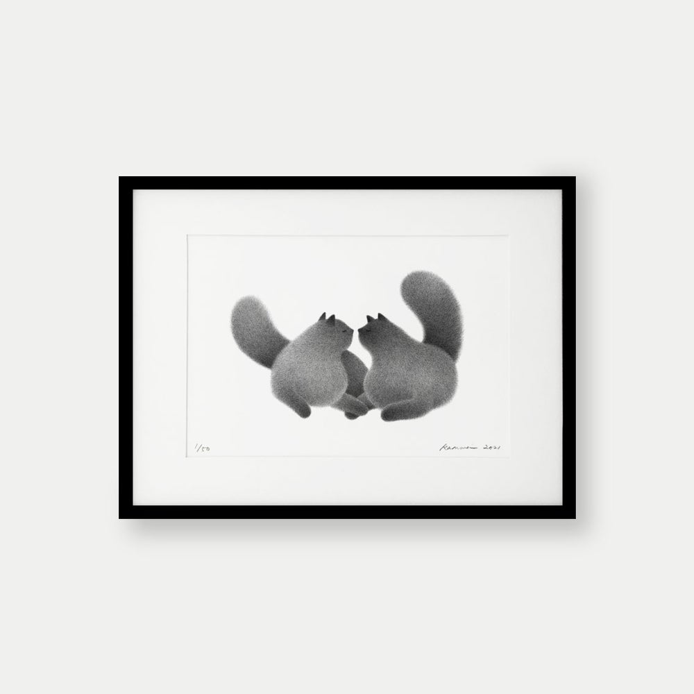 Image of I Love You – A4 Limited Edition Print