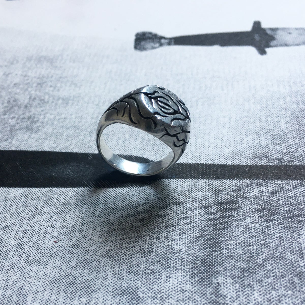 Image of THE SIGNET RING - POLISHED