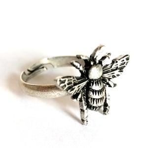 Image of Antiqued Bumblebee Ring