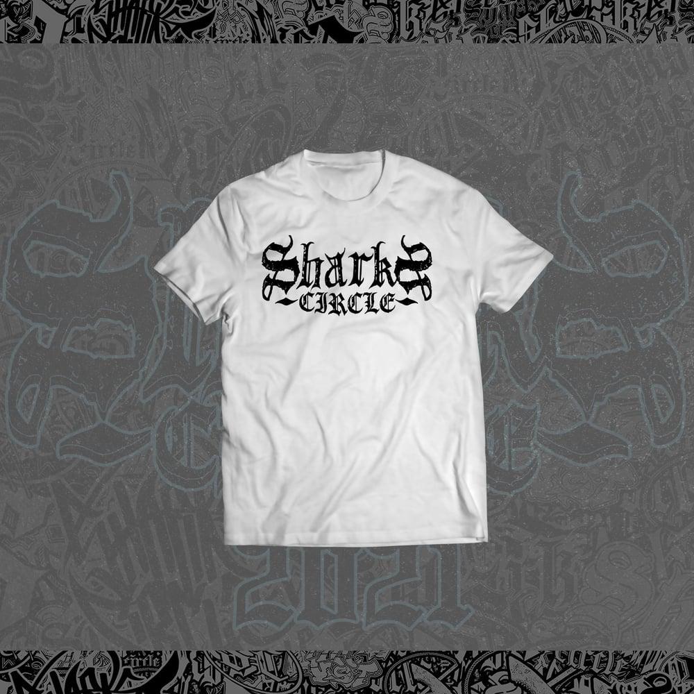 Sharks Circle - Alternative Logo Tee (White)