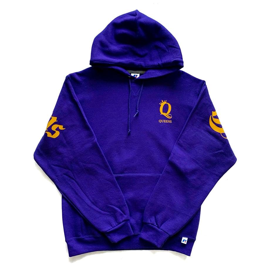 "Image of Crown the Queens ""Ten"" Hoodie Purple"