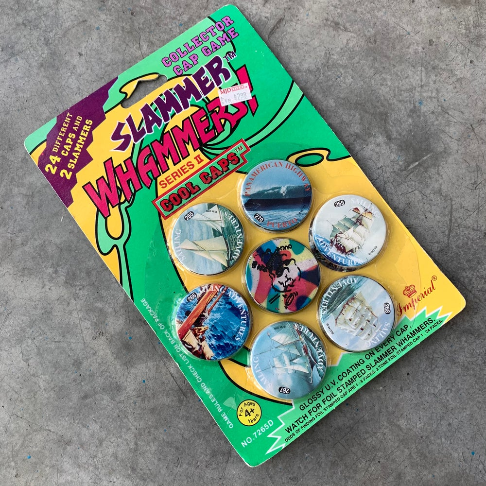 Image of Slammer Whammers! Series II Cool Caps Pack