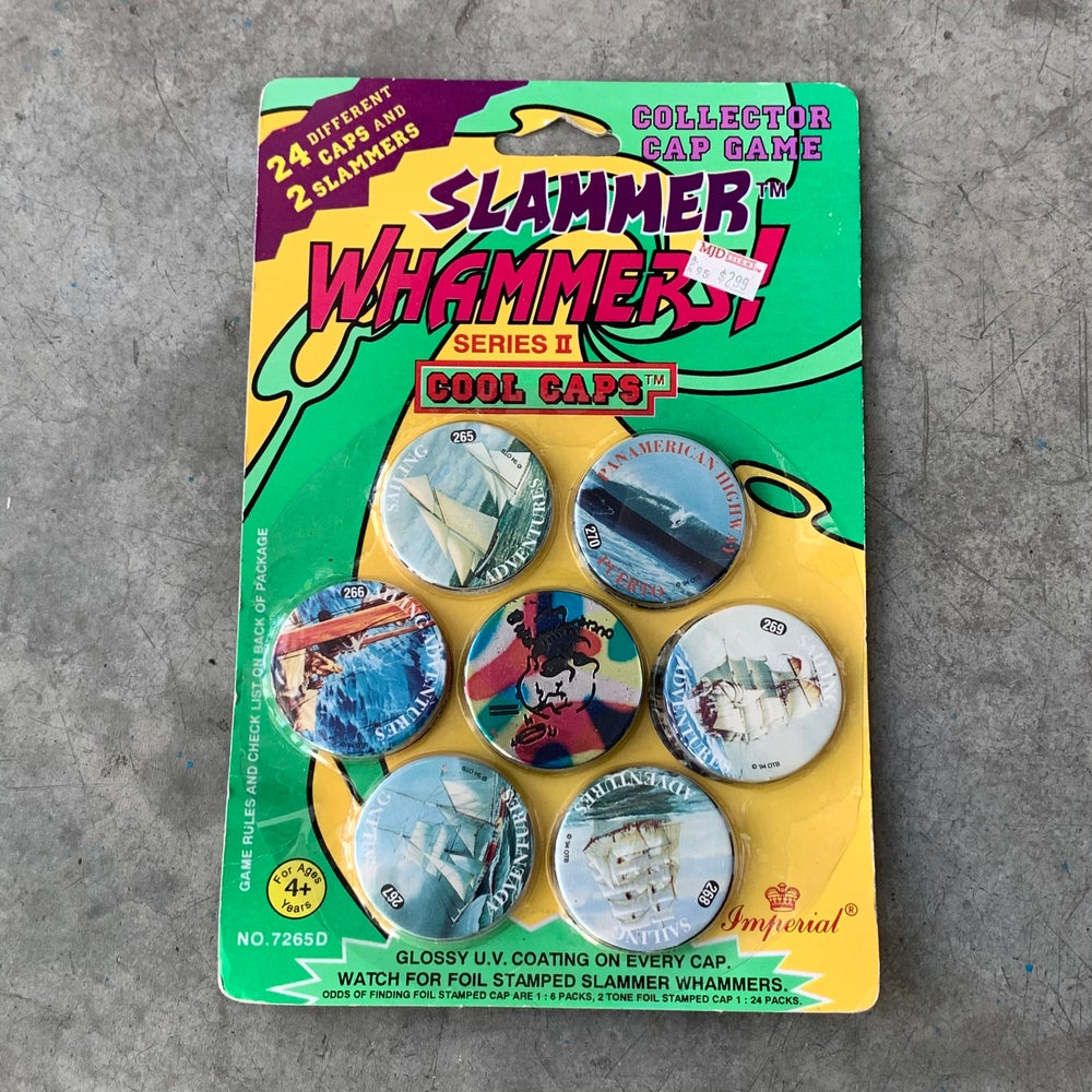 Image of Slammer Whammers! Series II Cool Caps Pack