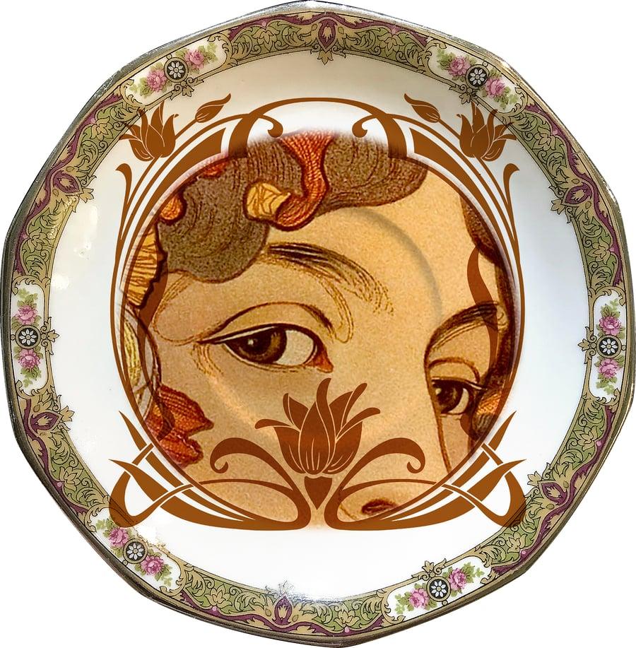 Image of Lover`s Eye Art-Nouveau - #0676 UNIQUE PIECE