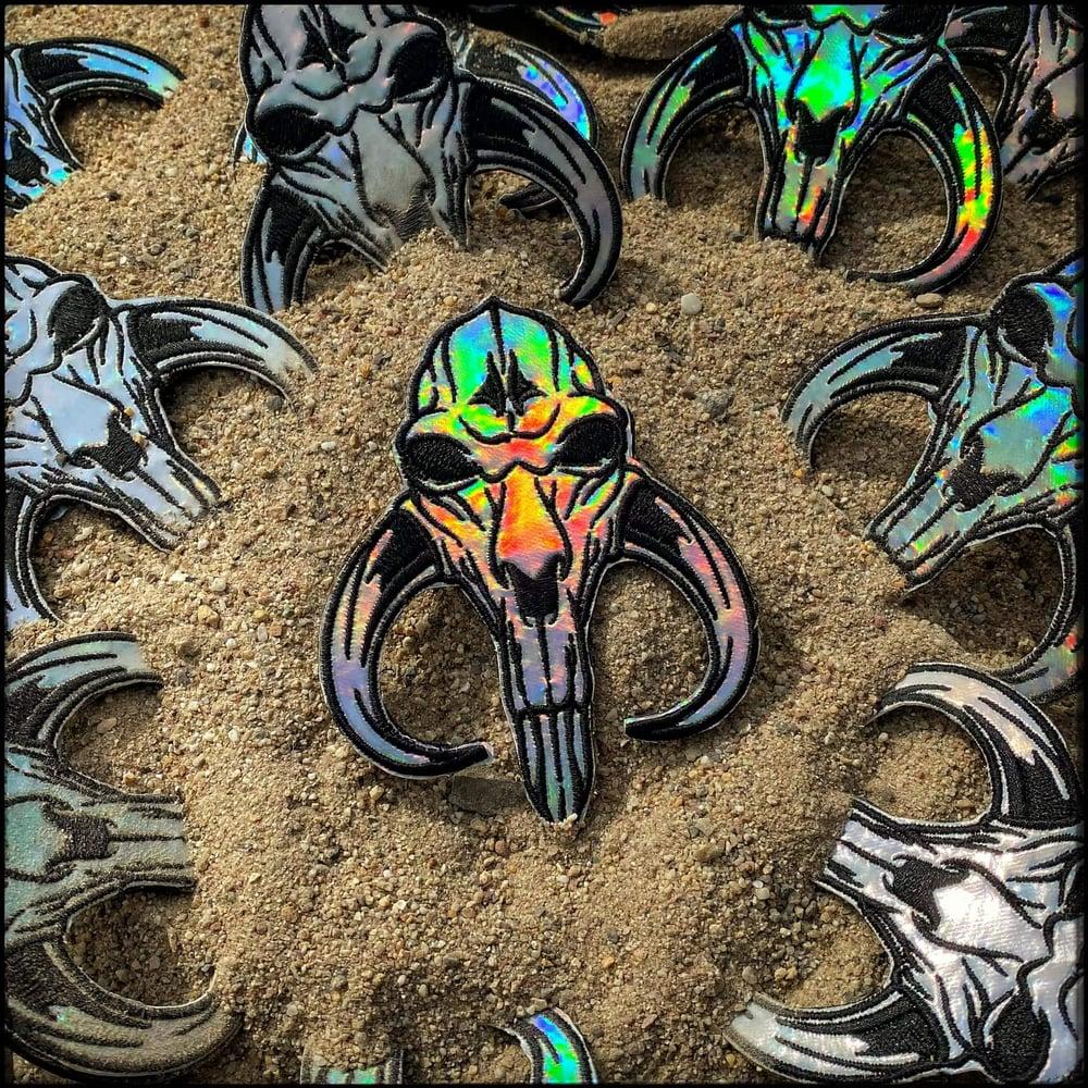 Image of CROM + SKINZ holographic Mythosaur