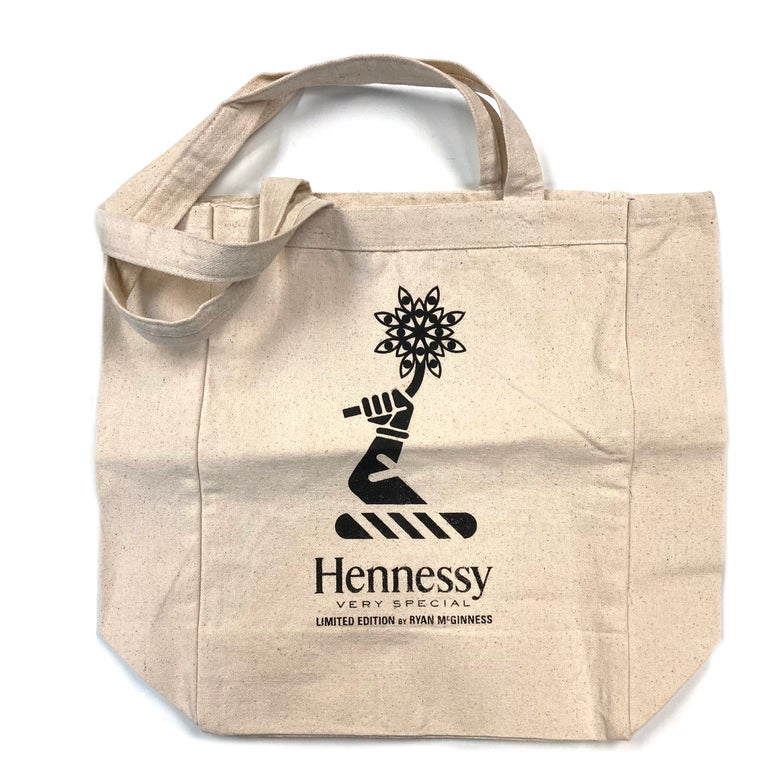 Image of Hennessy x Ryan McGuinness Canvas Tote